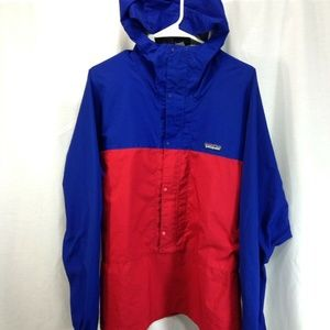 Patagonia Pullover Windbreaker Shell Jacket Hooded